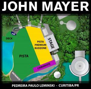 John Mayer em Curitiba